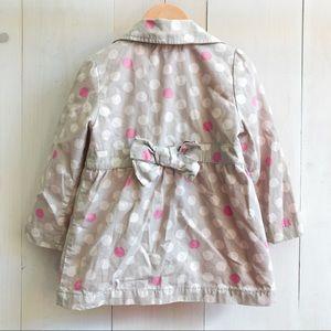 OshKosh B'gosh Jackets & Coats - 3T Genuine Kids/Osh Kosh sweet dots coat.